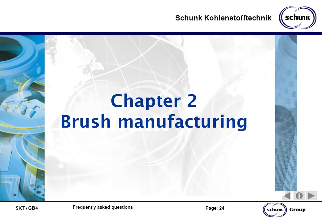 Chapter 2 Brush manufacturing