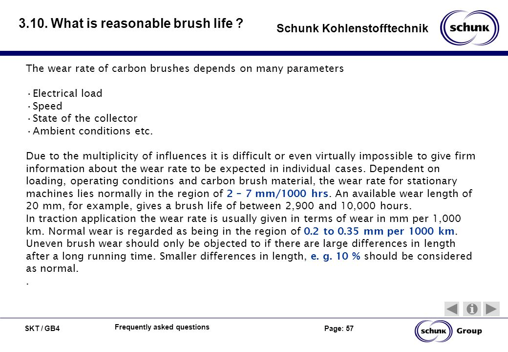 3.10. What is reasonable brush life