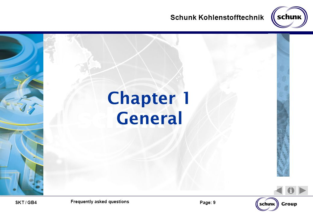 Chapter 1 General Frequently asked questions