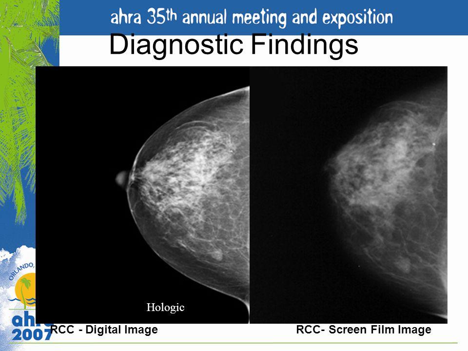 Diagnostic Findings RCC - Digital Image.