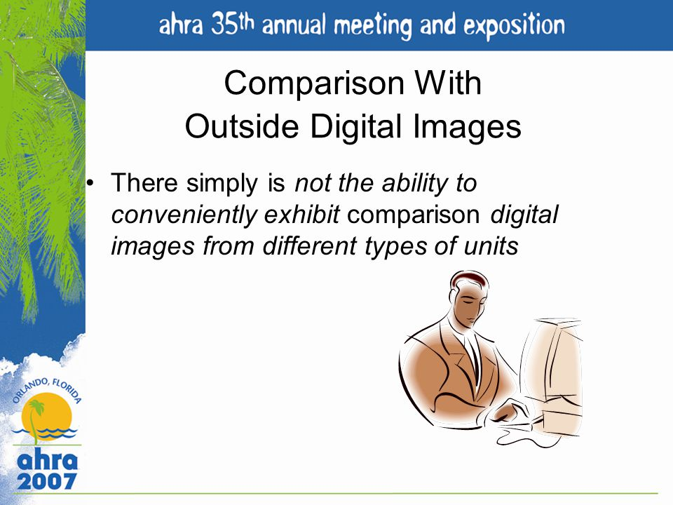 Comparison With Outside Digital Images