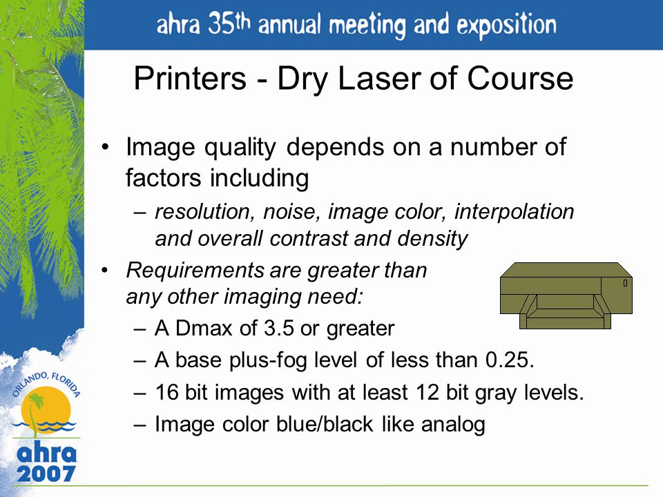 Printers - Dry Laser of Course