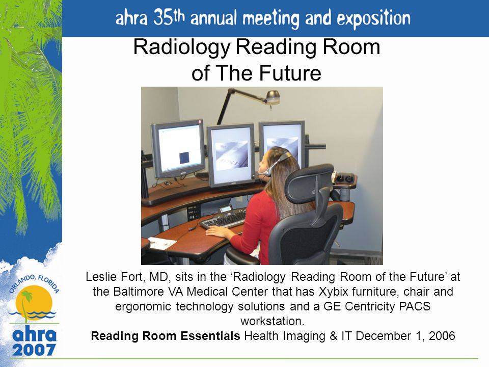 Radiology Reading Room of The Future