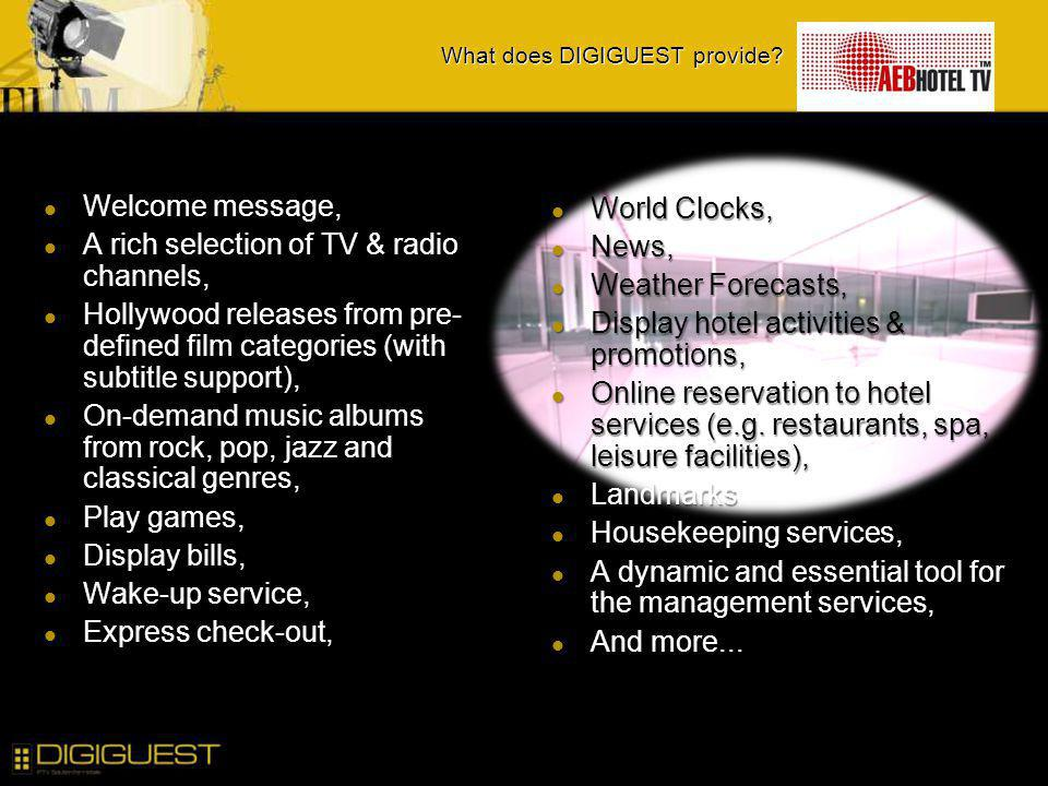 What does DIGIGUEST provide