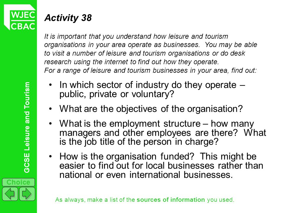 What are the objectives of the organisation