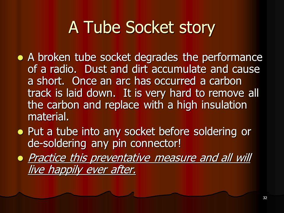 A Tube Socket story