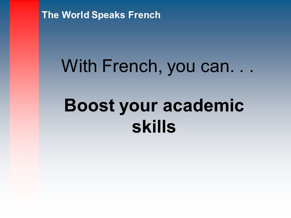 Boost your academic skills