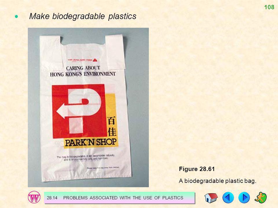  Make biodegradable plastics