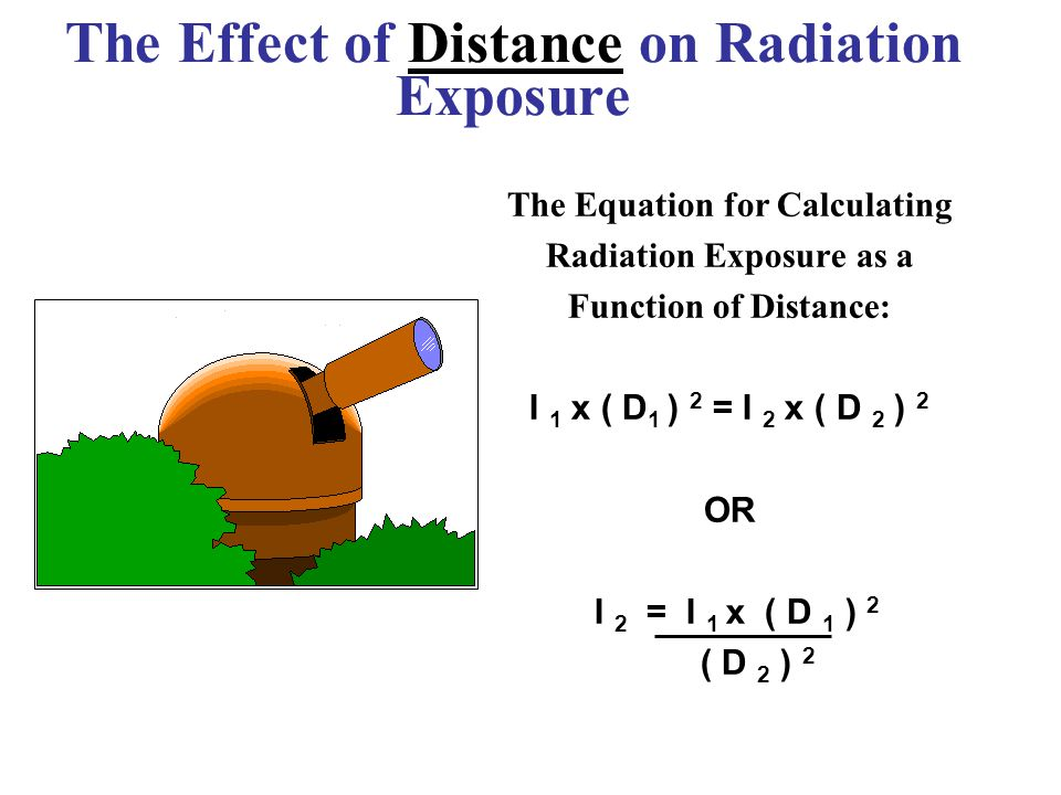 The Effect of Distance on Radiation Exposure