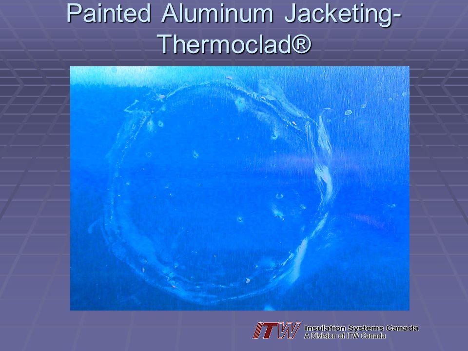 Painted Aluminum Jacketing-Thermoclad®