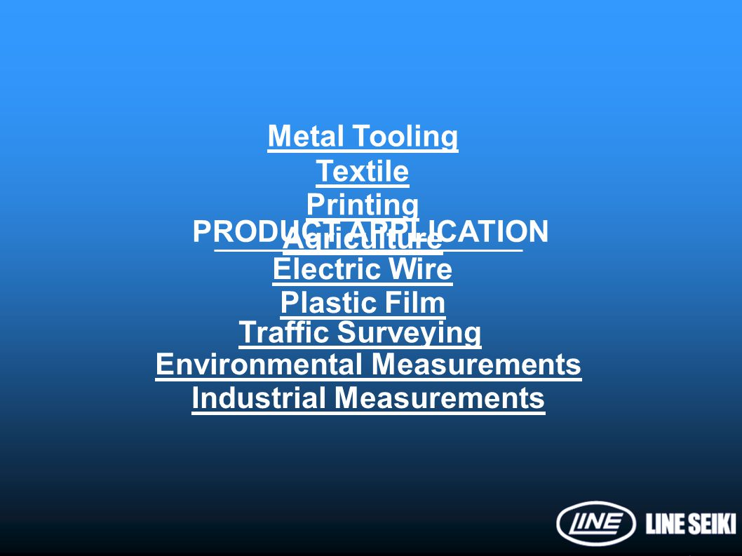 Environmental Measurements Industrial Measurements
