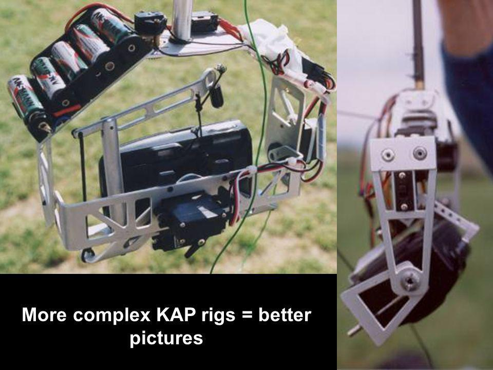 More complex KAP rigs = better pictures
