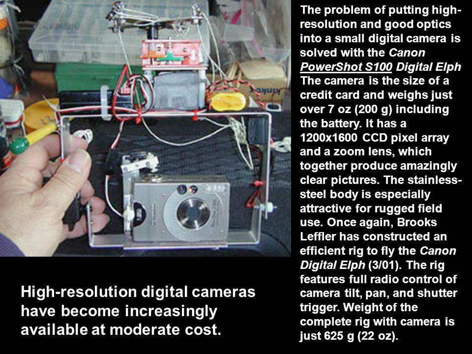 To be effective a kap rig is ppt video online download the problem of putting high resolution and good optics into a small digital camera is sciox Images