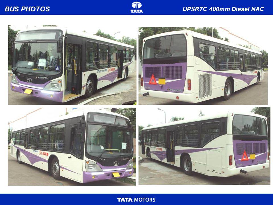 BUS PHOTOS UPSRTC 400mm Diesel NAC