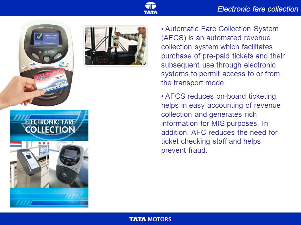Electronic fare collection