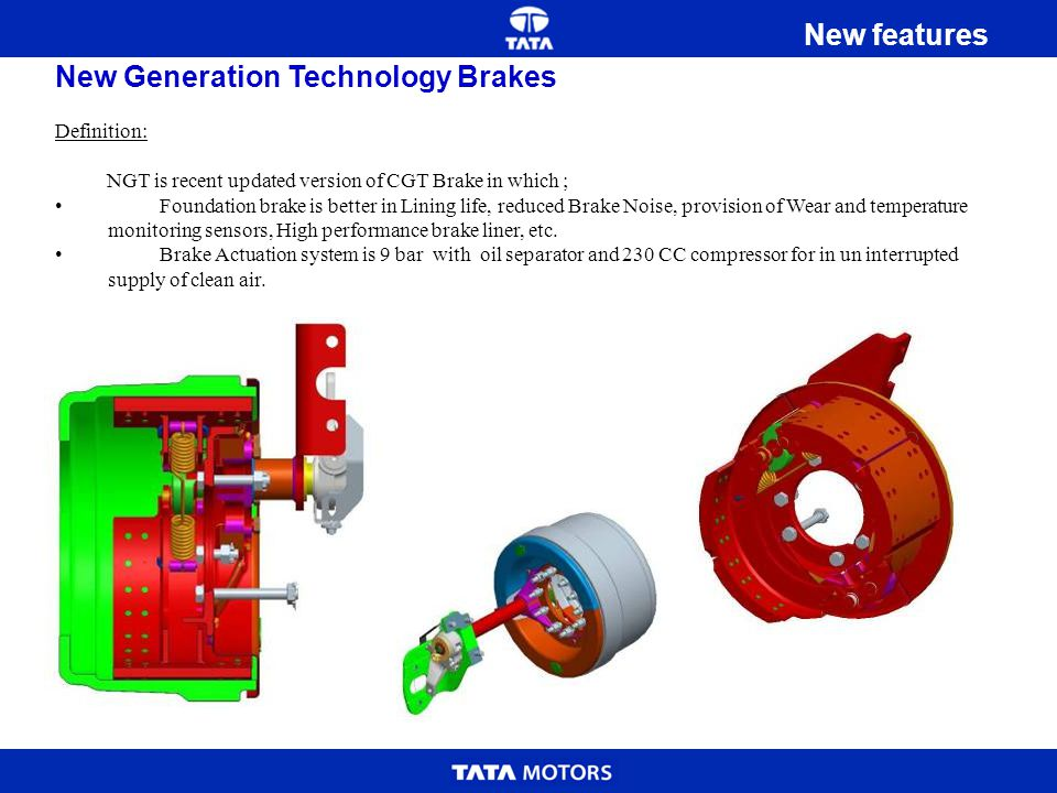 New Generation Technology Brakes