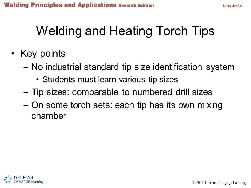 Welding and Heating Torch Tips