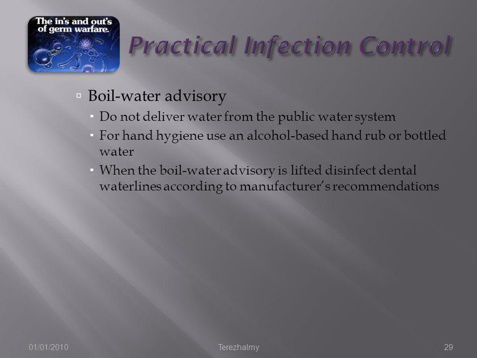 Practical Infection Control