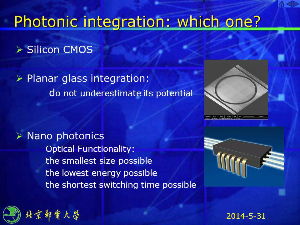 Photonic integration: which one