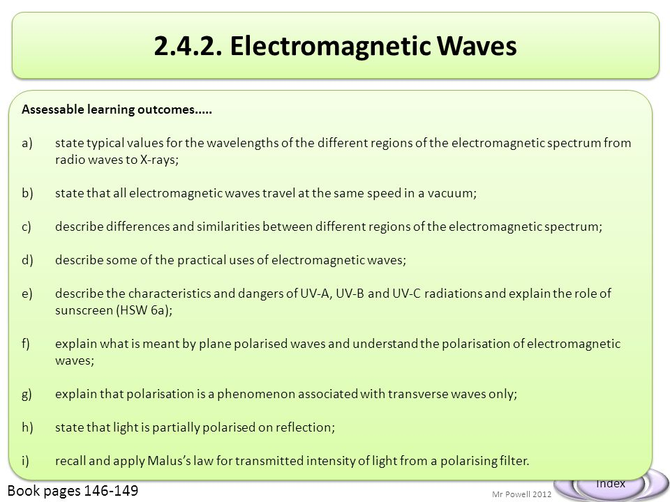 2.4.2. Electromagnetic Waves