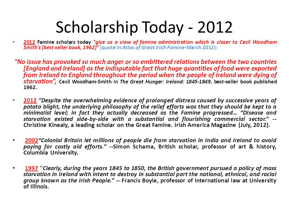 Scholarship Today - 2012
