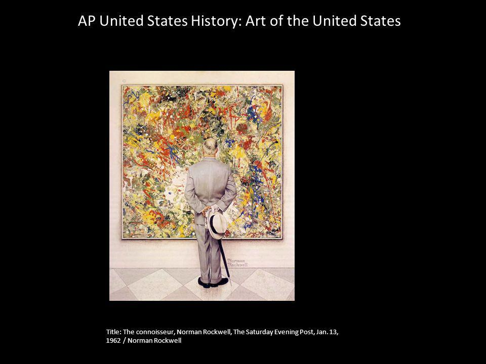 AP United States History: Art of the United States