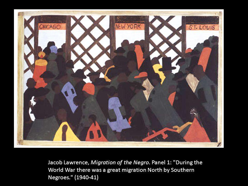 Jacob Lawrence, Migration of the Negro
