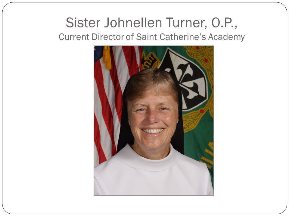 Sister Johnellen Turner, O. P