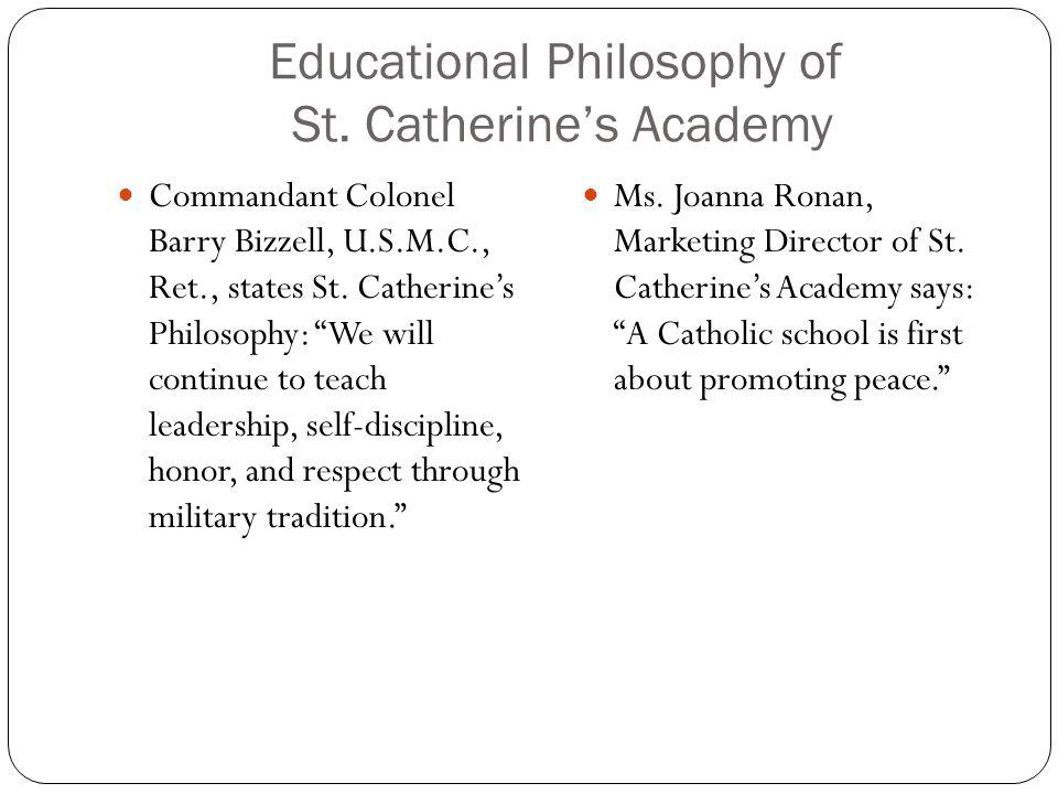 Educational Philosophy of St. Catherine's Academy