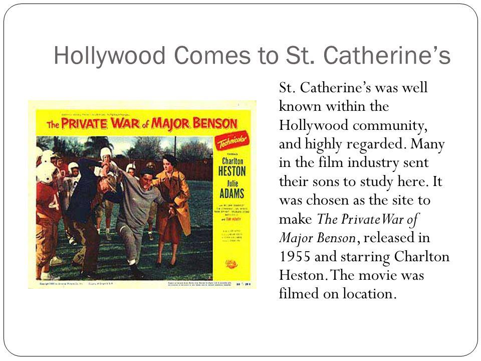 Hollywood Comes to St. Catherine's