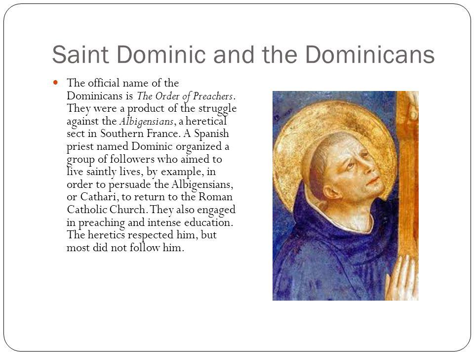 Saint Dominic and the Dominicans