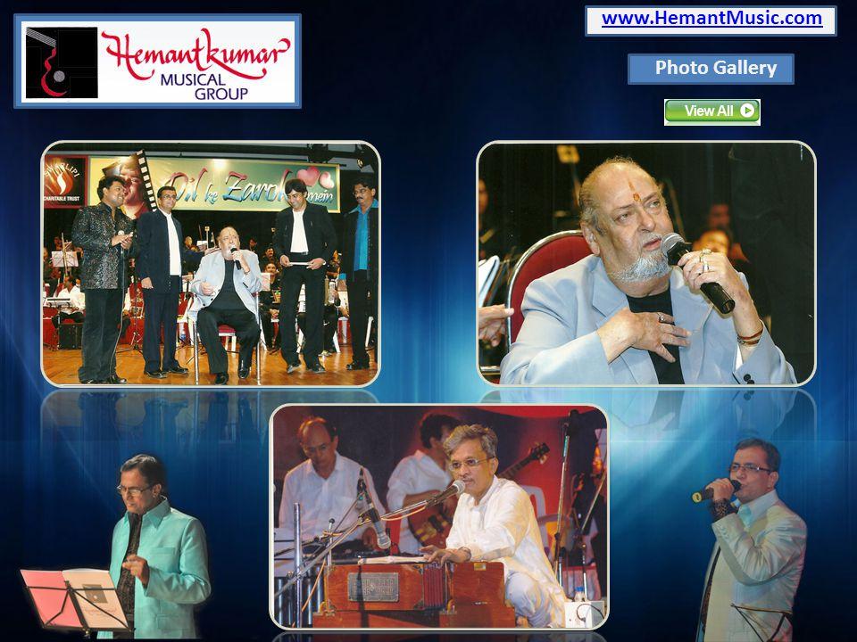 www.HemantMusic.com Photo Gallery