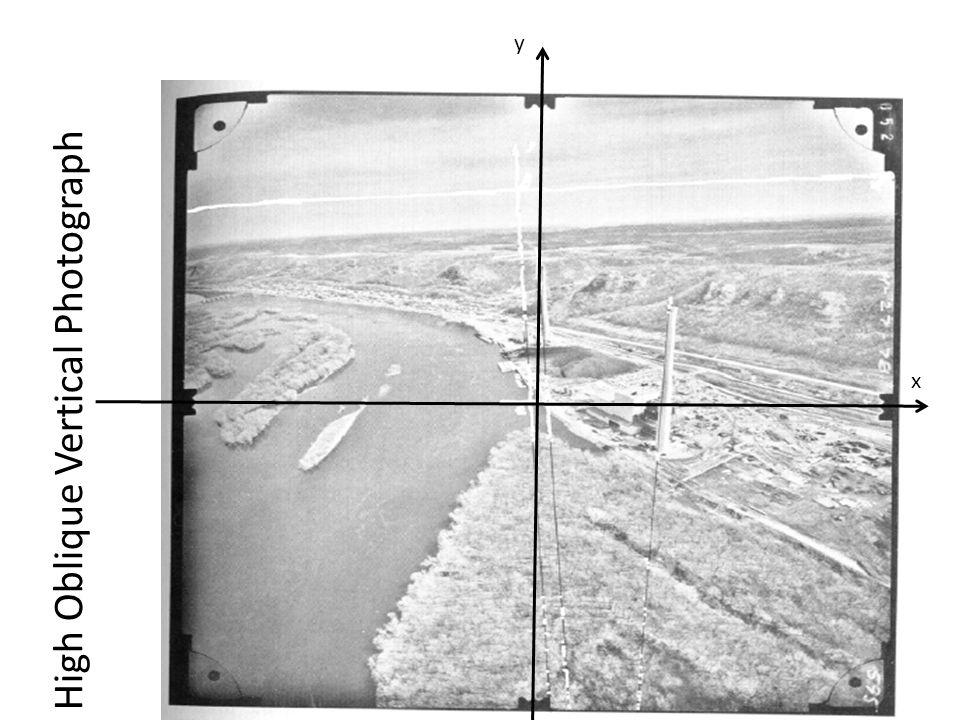 High Oblique Vertical Photograph