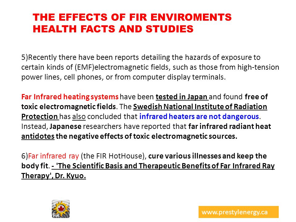 THE EFFECTS OF FIR ENVIROMENTS HEALTH FACTS AND STUDIES