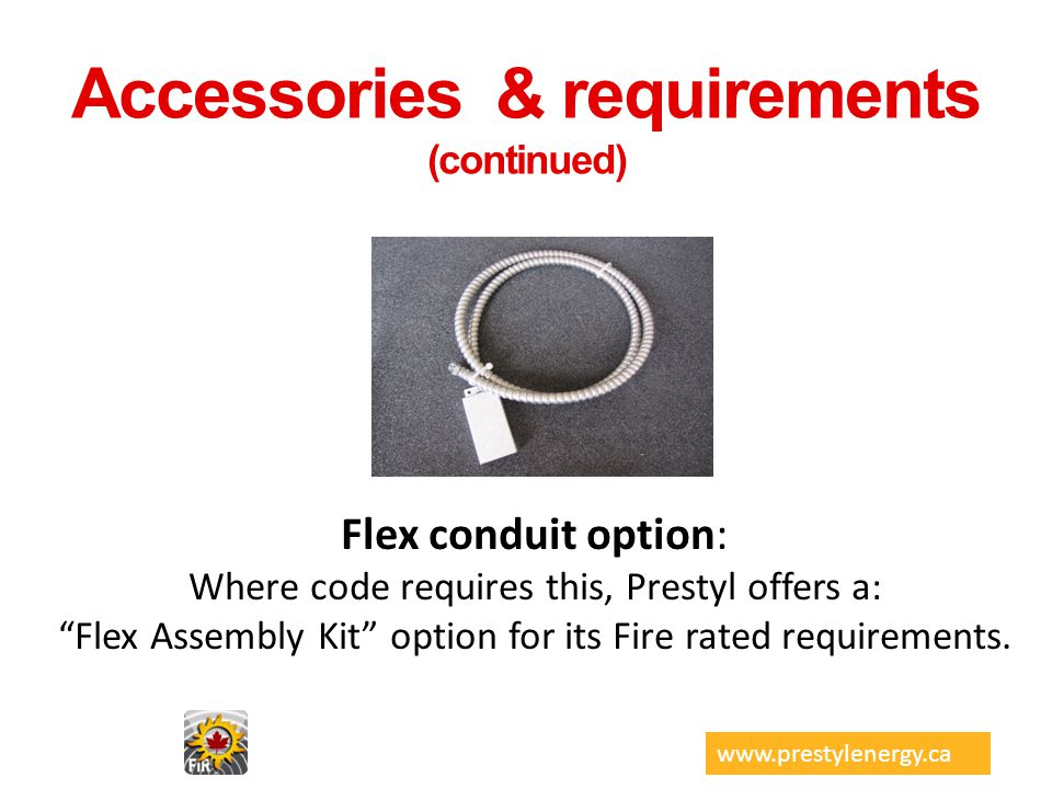 Accessories & requirements (continued)
