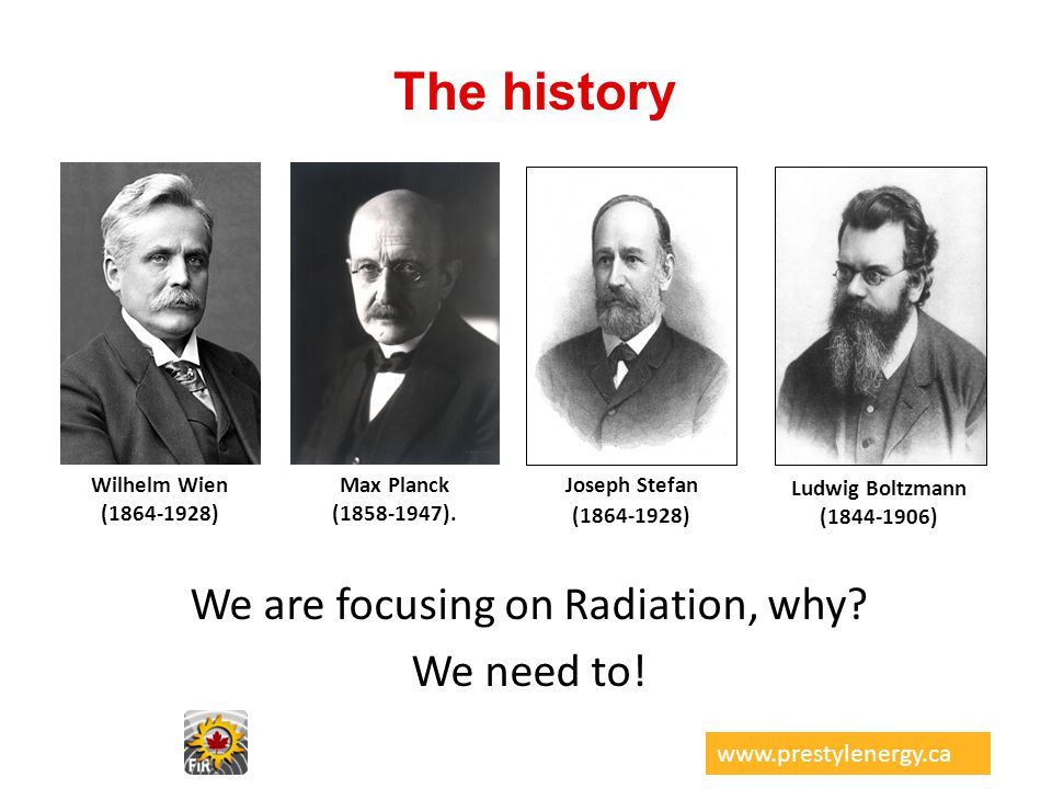 We are focusing on Radiation, why