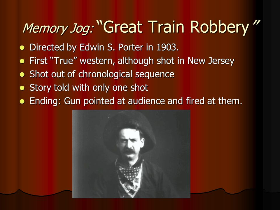 Memory Jog: Great Train Robbery