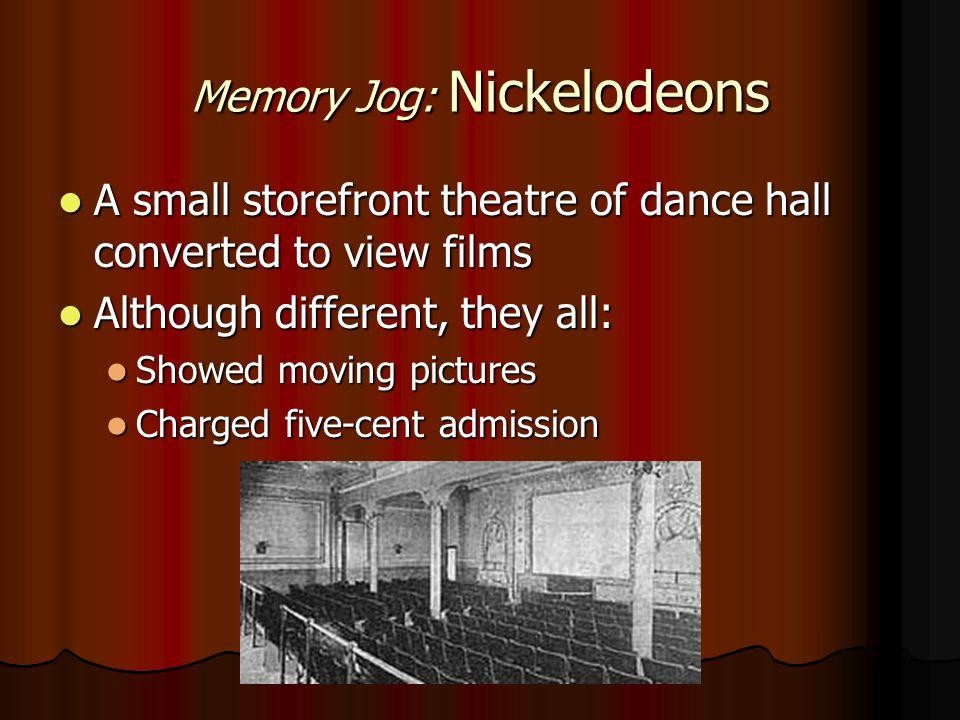 Memory Jog: Nickelodeons