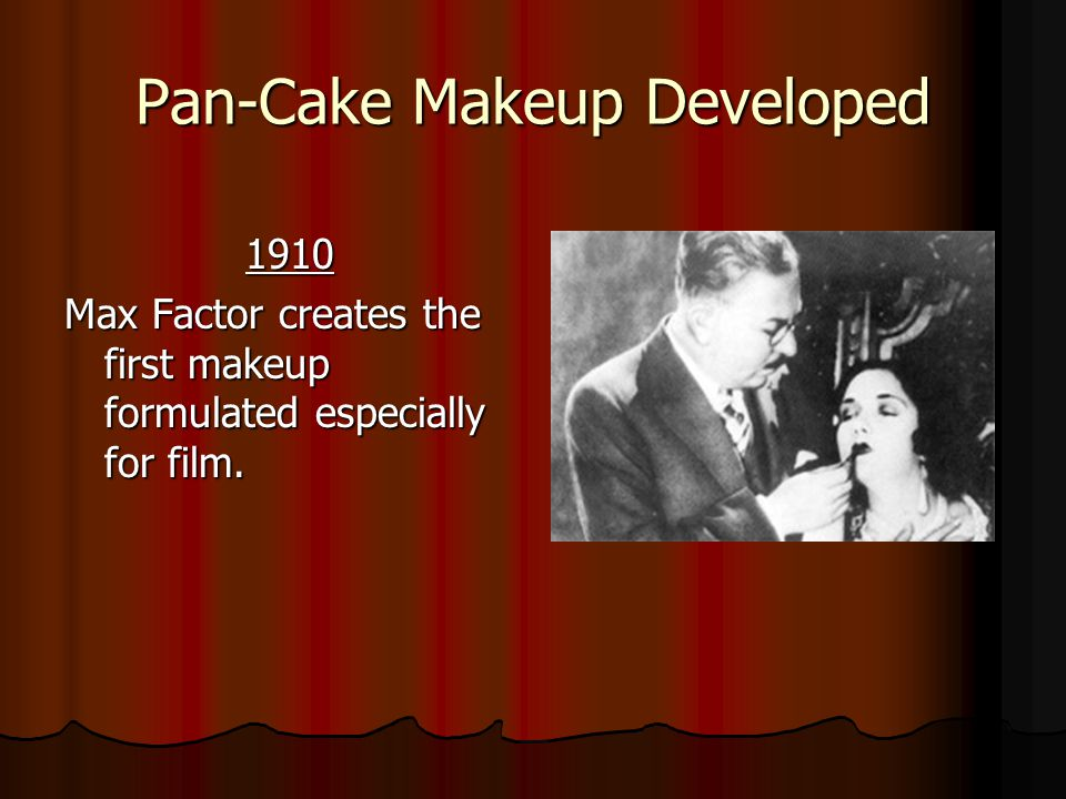 Pan-Cake Makeup Developed