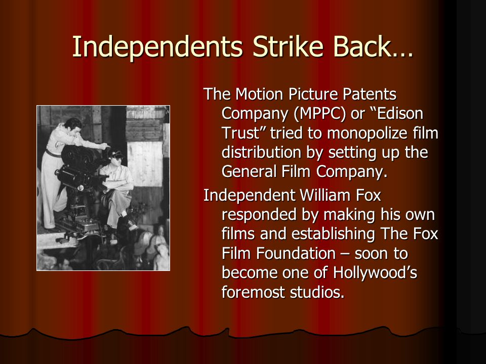 Independents Strike Back…