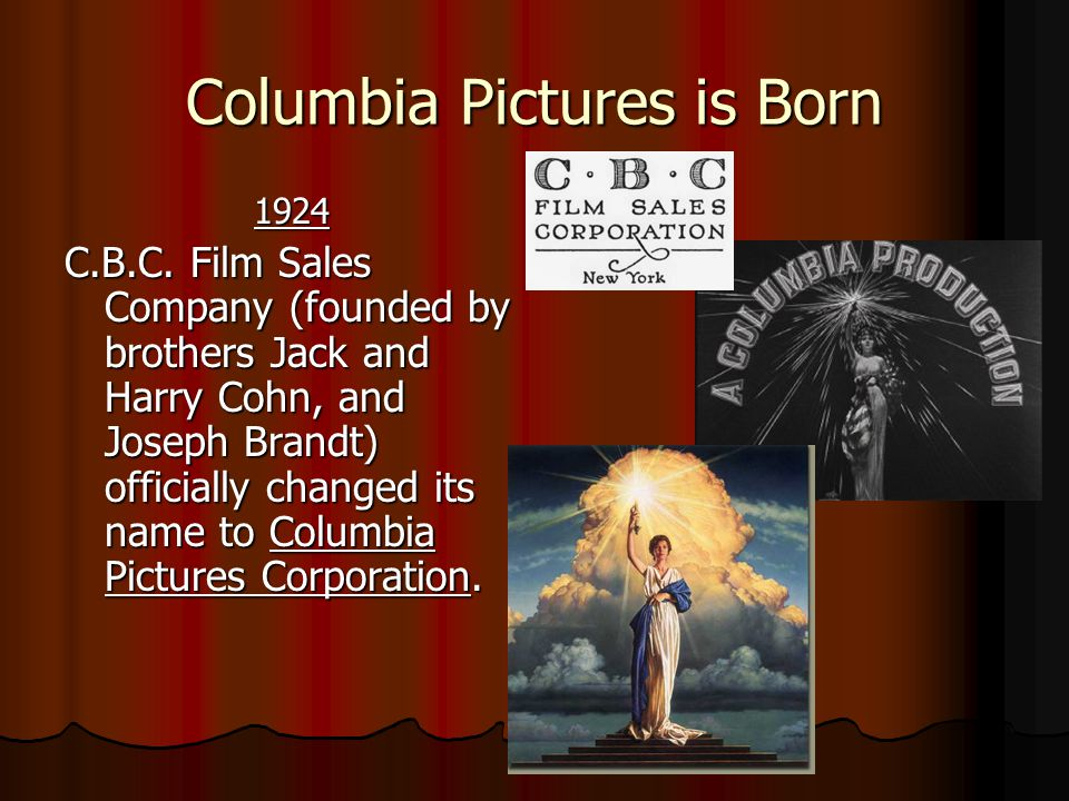 Columbia Pictures is Born