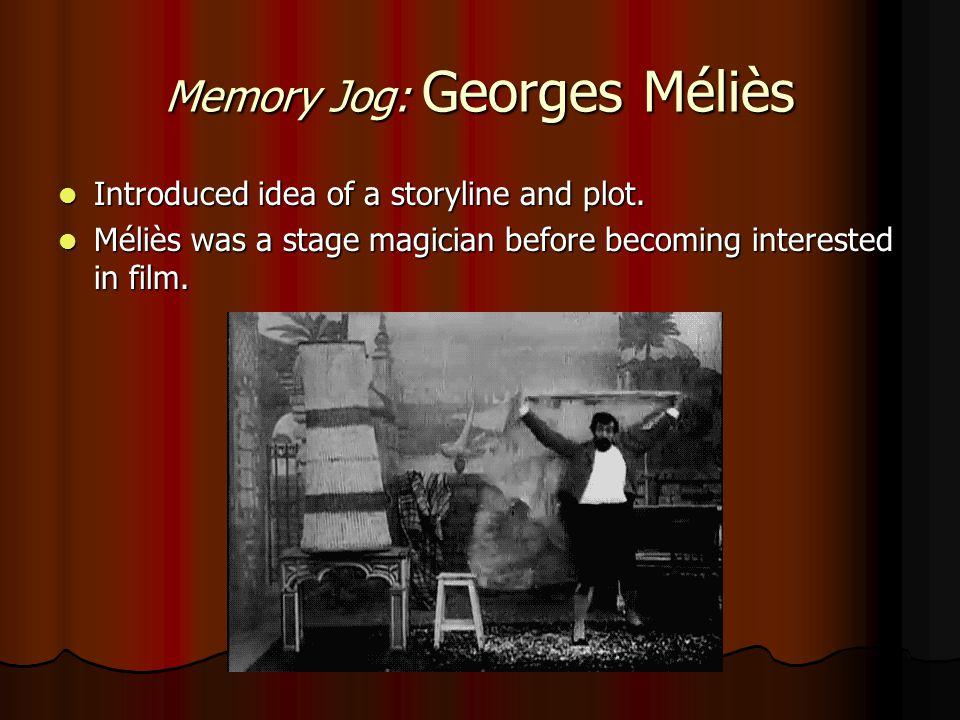 Memory Jog: Georges Méliès