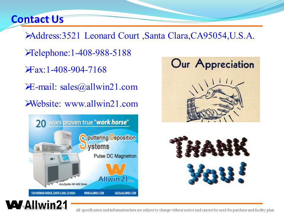 Contact Us Address:3521 Leonard Court ,Santa Clara,CA95054,U.S.A.