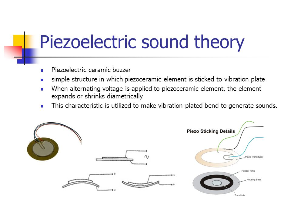 Piezoelectric sound theory