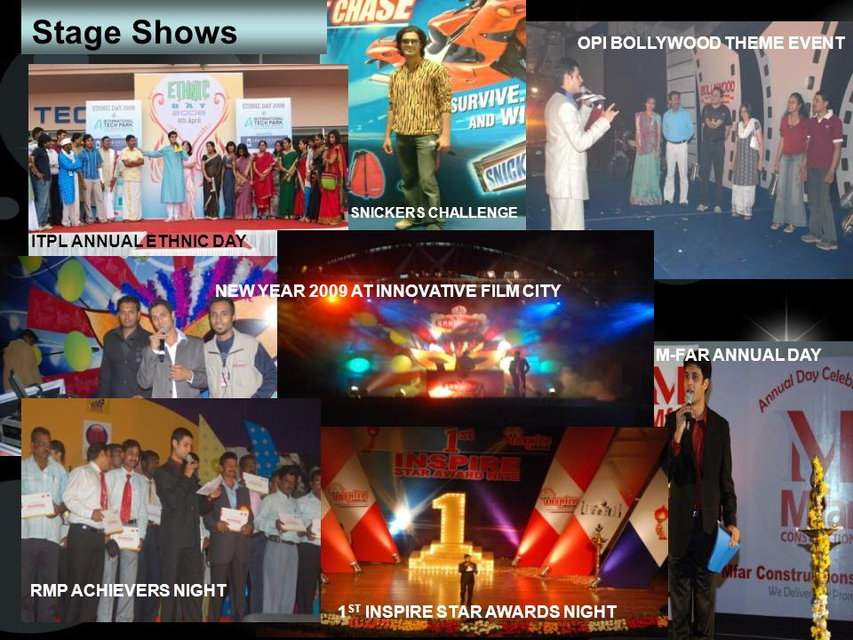 Stage Shows OPI BOLLYWOOD THEME EVENT ITPL ANNUAL ETHNIC DAY