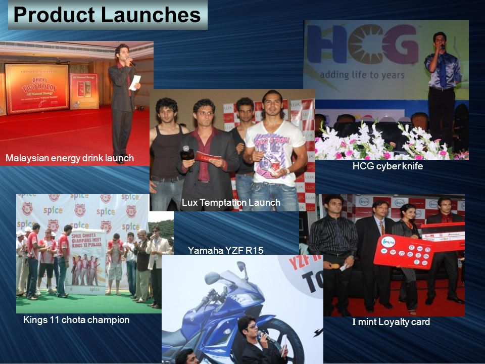 Product Launches Malaysian energy drink launch HCG cyber knife