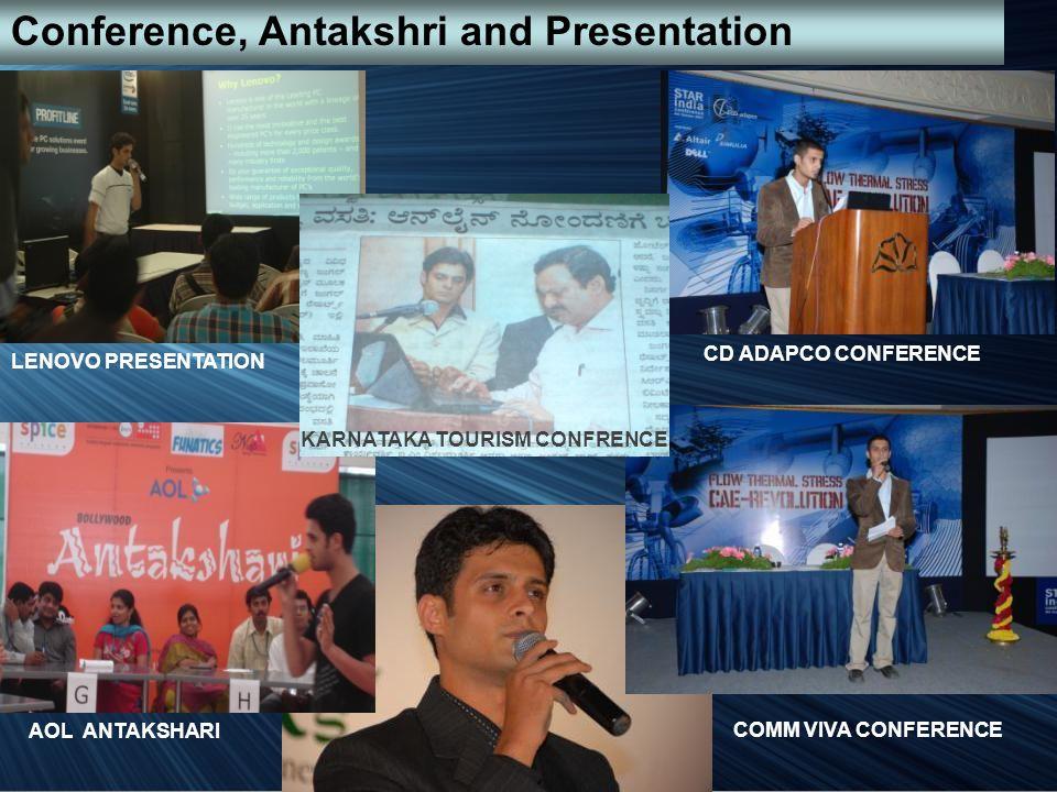Conference, Antakshri and Presentation