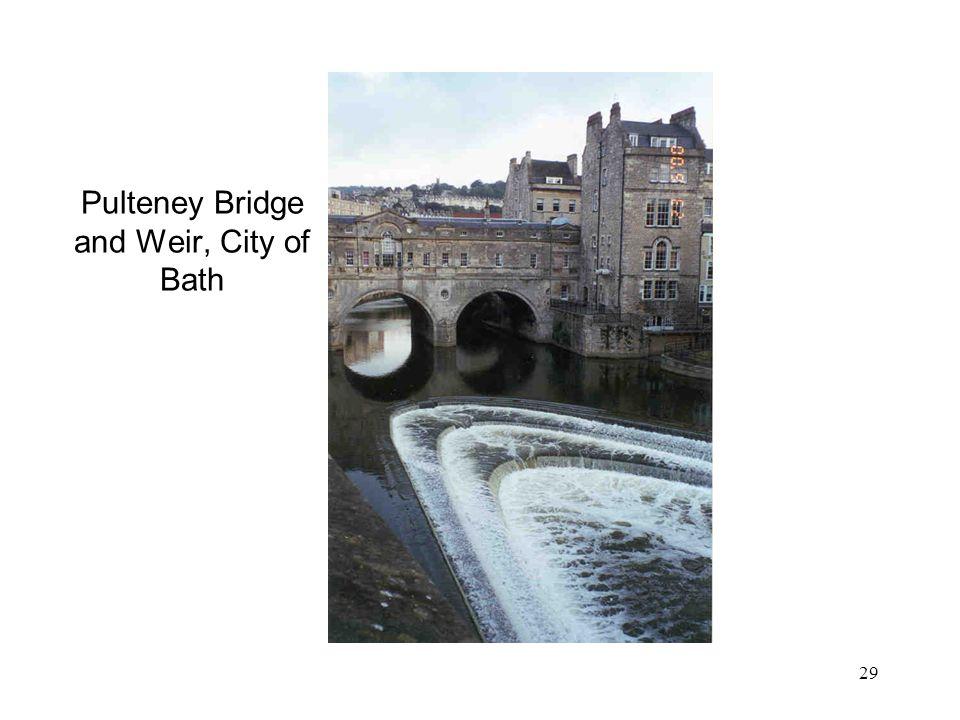 Pulteney Bridge and Weir, City of Bath