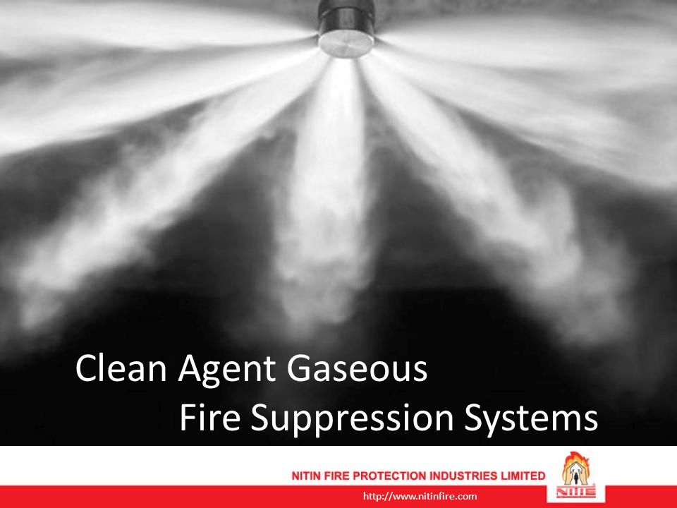 Clean Agent Gaseous Fire Suppression Systems