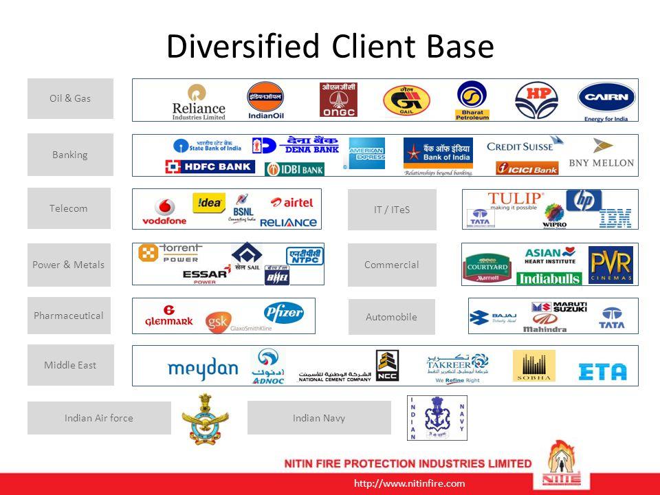 Diversified Client Base